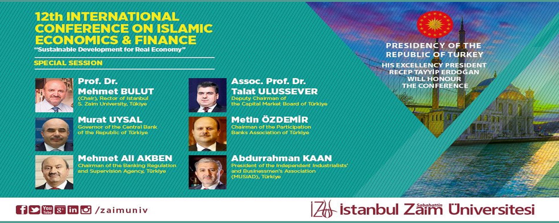 The 12th International Conference on Islamic Economics and Finance