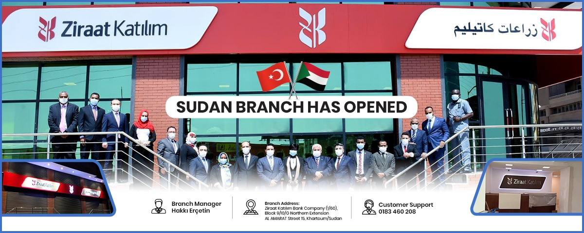 Ziraat Participation Bank Opened its First Branch in Sudan